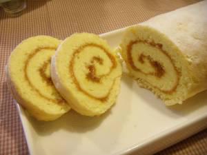 Biskuit-Roulade