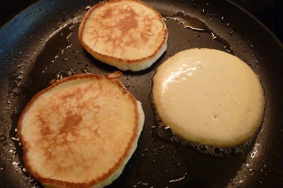Liwanzen, Pancakes