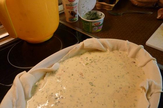 Camembert Quiche