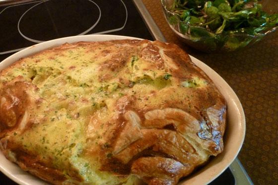 Camembert-Quiche